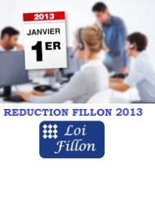 CALCULER LA  REDUCTION FILLON 2013