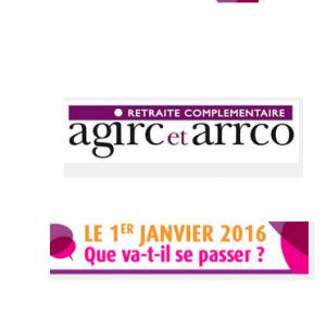 Bulletin de paie 2016: mensualisation du paiement des cotisations  AGIRC et ARRCO