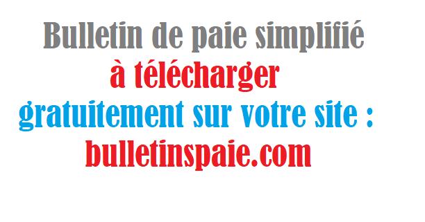 Bulletins Paie 2018 Telecharger La Fiche De Paie Excel 2018